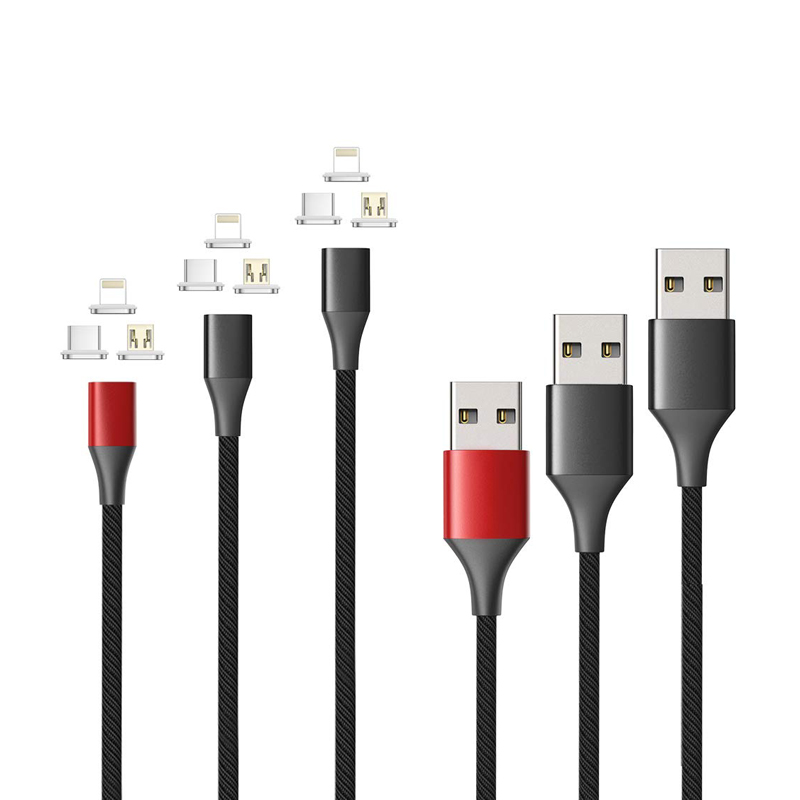 CANDYEIC Type-C Charging Cable Magnetic Wire For LG <font><b>G6</b></font> G8s ThinQ V30s V50 V35 ThinQ LG <font><b>G6</b></font>+ G5 Q6 Q8 Nexus 5X Data Line Type-C image