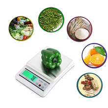 Kitchen Digital Scale 1/3/10kg 0.1/1g High Precision LCD Backlight Display Large Capacity for Meal Baking