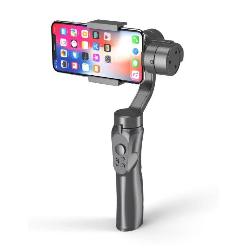 Mobiele Plus 3 Axis Telefoon Gopro Gimbal Voor Gopro Hero 6 5 SJCAM Stabilisator Memory Card