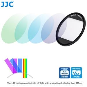 Image 2 - Сверхтонкий УФ фильтр JJC L39 с многослойным покрытием для Sony RX100 V RX100 VI RX100 VII, Canon G5X, Mark II, G7X, Mark II, G7X, Mark III