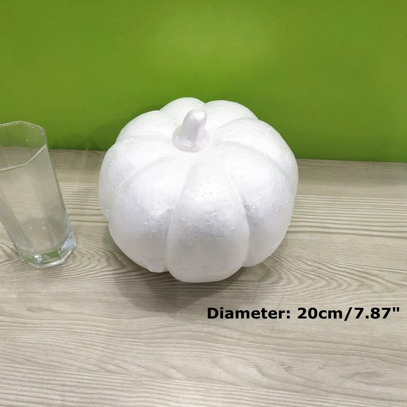 Pumpkin Polystyrene Styrofoam Foam For Craft DIY Halloween Decoration Dia 5-20cm ZXY9827