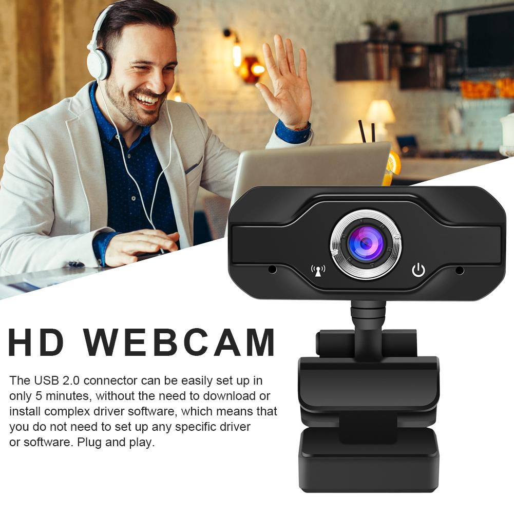 New Mini L69 HD 1080P Webcam Live Broadcast Camera With Microphone Digital USB Video Recorder Home Remote Office School Teaching image