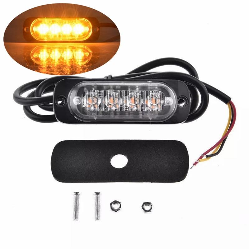 1PCS LED Light Truck 12v 24v Lights Car Trailer Truck Side Marker LED Light Turn Light Bar Indicators Lamp Tail Light Car