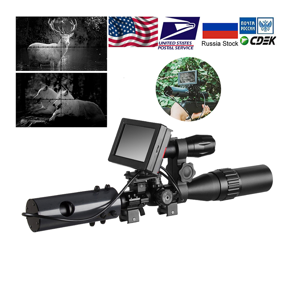 850nm Infrared LEDs IR Night Vision Device Scope Sight Cameras Outdoor 0130 Waterproof Wildlife Trap Cameras A(China)