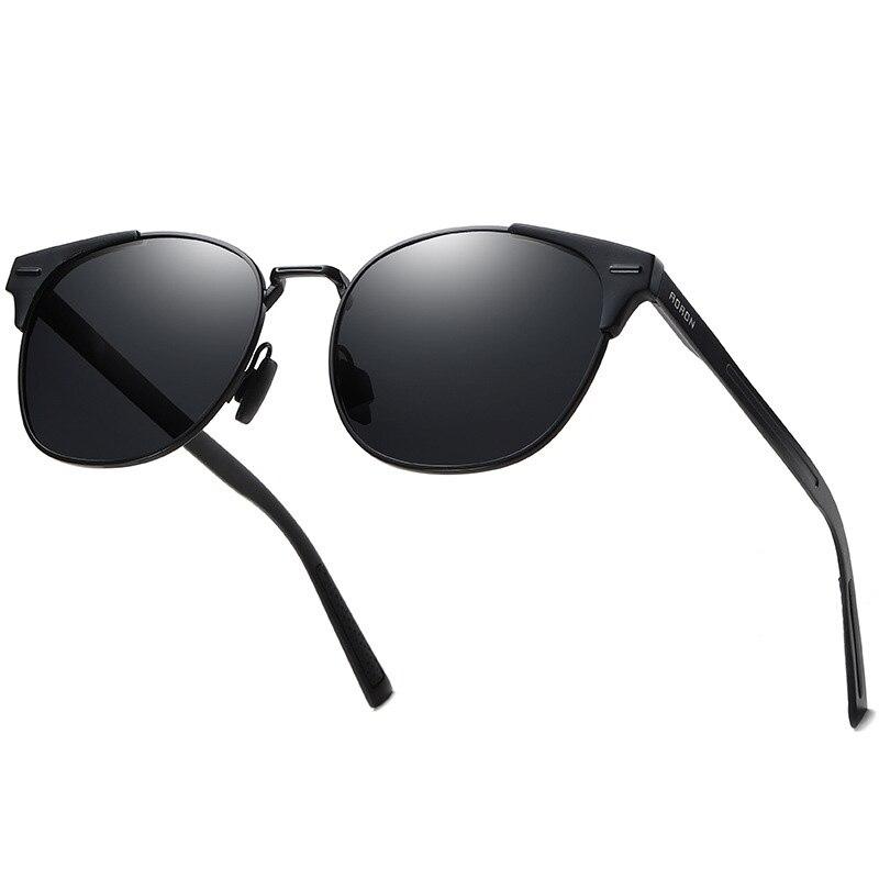 Polarized Prescription Sunglasses For Men Alloy Material Myopia Night Vision UV400 Protection