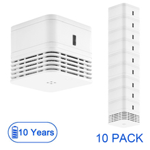 CPVan wireless smoke detector fire alarm sensor EN14604 CE Certified 10 year battery fire detector 85dB photoelectric smoke 2019