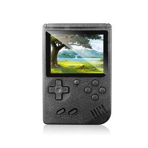 Image 2 - Klasyczny Design 400 w 1 Gameboy torba w stylu Retro gra wideo konsola 3.0 cal ekran TV AV OUT dla dziecka chłopiec prezent
