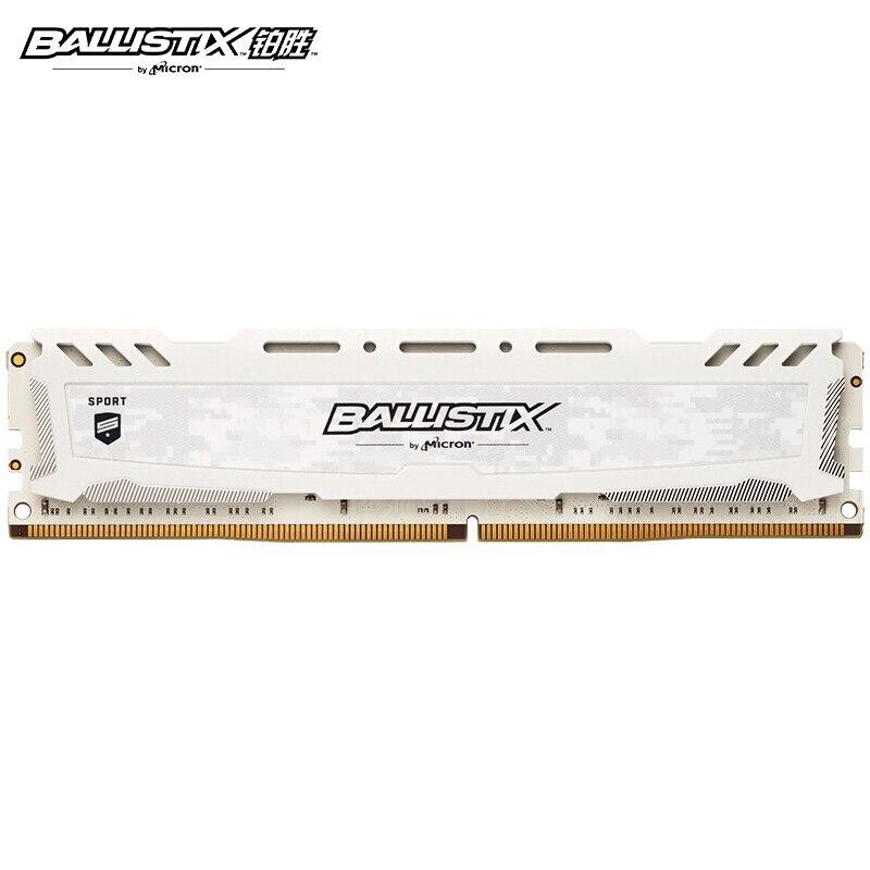 Ballistix Sport platinum Sport di memoria DDR4 4GB 8GB 16GB 32GB 2400MHz 2666MHz 3000MHz 3200MHz MT/s 288 per il gioco