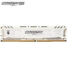 Ballistix Sport platynowa pamięć sportowa DDR4 4GB 8GB 16GB 32GB 2400MHz 2666MHz 3000MHz 3200MHz MT/s 288 do gry