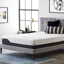 Colchão firme médio fresco do gel do topper do colchão da espuma da memória de 30/25cm para a cama cama completa do topper do tamanho do rei da rainha com apoio lombar