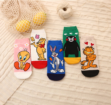 10Pair Middle School Socks Teenagers Socks Student Socks Sport Cartoon Boat Socks Girl Boys Sock Short Cartoon Girls Socks 10pair girl cartoon middle school short socks cartoon girls school student socks socks teenagers sock boys sport boat socks