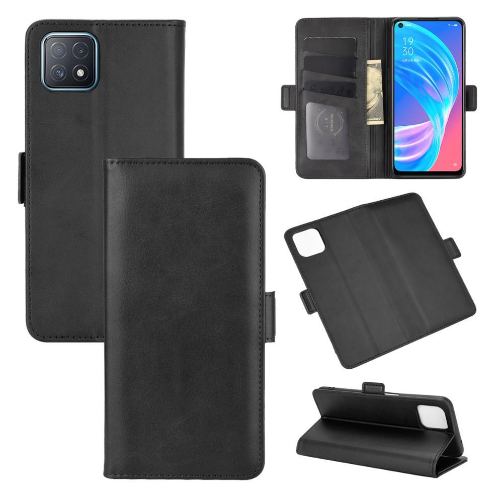 Чехол для OPPO A72 5G кожаный чехол-портмоне на застежке в стиле винтажный магнит Телефон чехол для OPPO A73 5G Coque