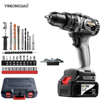 47% Off Cordless Drill Impact Electrical Screwdriver  Wireless Tool