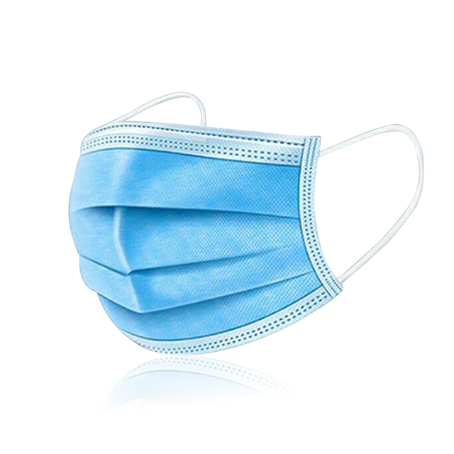 Kids Cotton Mouth Face Mask With 10pcs PM2.5 Breathing Valve Anti dust Anti Flu Mask Respirator Adjustable Children Mask 2