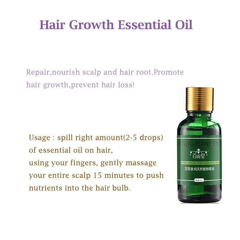Hair Care Hair Growth Essential Oils Essence Original Authentic 100% Hair Loss Liquid Health Care Beauty Dense Hair Growth Serum 5