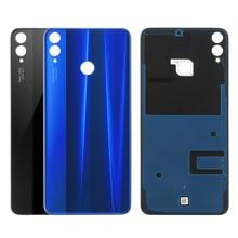 Оригинальная задняя крышка батарейного отсека для Huawei Honor 8X, стеклянный задний корпус Honor View 10 Lite, запасные части