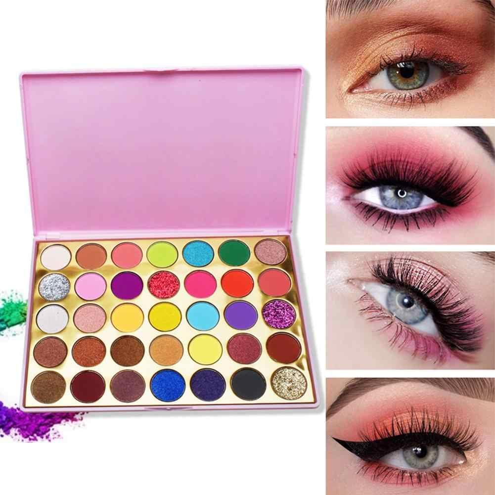 35 couleurs Palette d'ombres à paupières paillettes Palette d'ombres à paupières marque professionnelle mat coloré maquillage beauté fards à paupières Paleta De Sombra