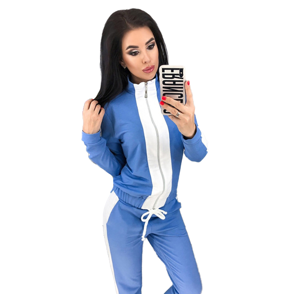 Jogging Femme Women's New Autumn Sports And Leisure Set 2 Sets Long Sleeve Women Clothes Women Two Piece Outfits Club Outfits