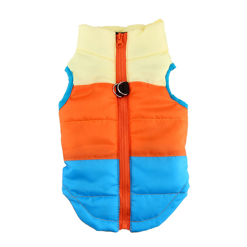 Waterproof Dog Jacket and Warm Pet Clothing with Zipper Design 26