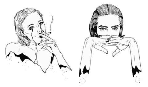 방수 임시 문신 레온 용감한 여자 전사 총 잎 Mathilda 문신 플래시 문신 여자 레이디에 대한 가짜 문신