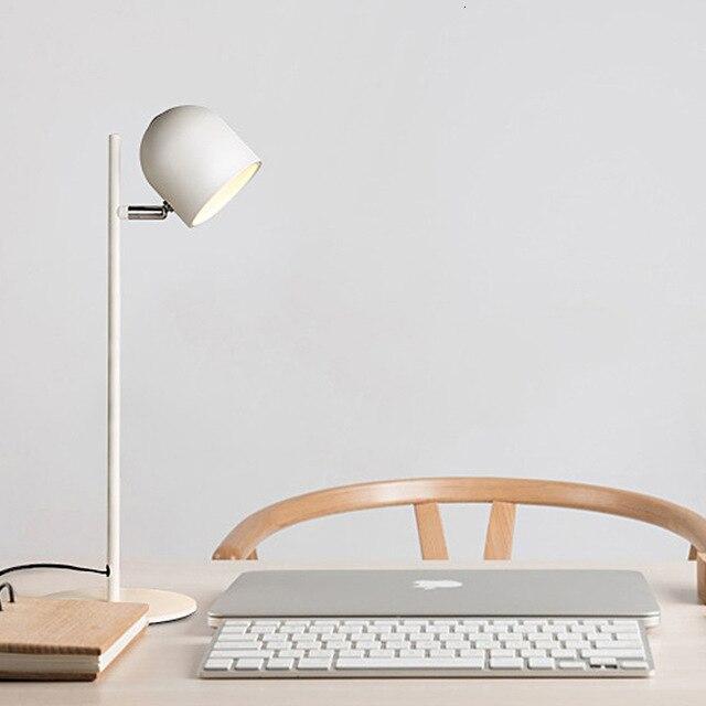 Современный Железный Настольный светильник, простая настольная лампа для спальни, лампа для кровати, abajur para quarto
