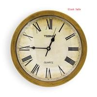 壁時計金庫隠し秘密収納ボックスキャッシュ · マネージュエリーセキュリティ時計スタイル安全なアンチ盗難スタッシュボックスのための貴重な