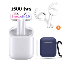 i500 tws i500tws i 500 cordless earbuds headset 5.0 touch ba earphone PK i14 tws 2019 i88 tws w1 chip 1:1i100 i200(China)
