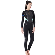 3mm dive suit Neoprene Women's Swimming Wetsuit Jellyfish clothing Diving Snorkeling Swimming Water long sleeve piece fitted цена