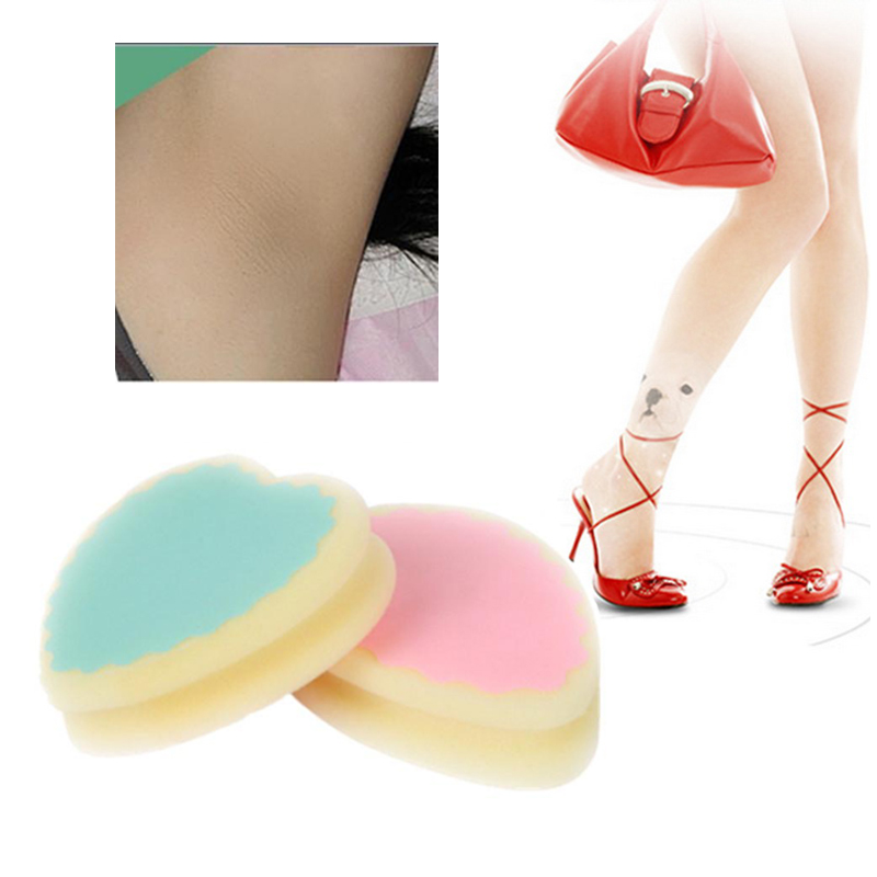 1PC Hair Removal Sponge Painless Hair Remover 3 Shapes Magic Depilation Sponge Soft Pad Effective Remove Hair Remover Dropship