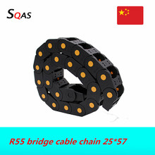 Chain Drag Plastic for CNC Engraving-Machine Towline Wire-Transmission-Carrier Bridge-Cable