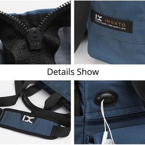 Image 5 - Hohe Qualität Mann Business Hand Tasche Männlichen Schulter Taschen für 9,7 Zoll Ipad Städtischen Tägliche Tragen Tasche Crossbody Pack mit viele Tasche
