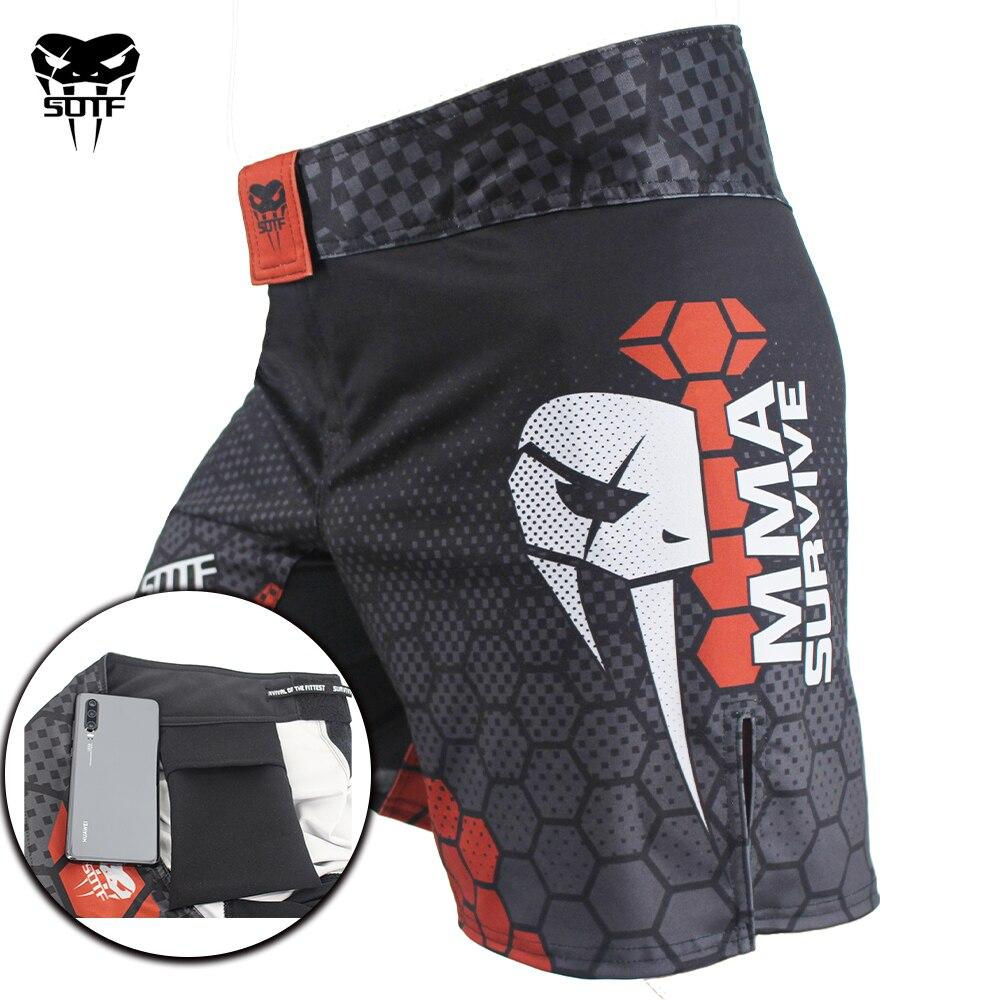 Macaco jiu-jitsu MMA Apertado calções Tiger Muay Thai calções de boxe mma sanda kickboxing mma calções de boxe roupas baratas curtas