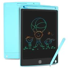 NEWYES 8.5 cali kolorowe pisanie Tablet graficzny elektroniczne cyfrowe tablice graficzne LCD Doodle notatnik kasowalne podkładki do pisania ręcznego