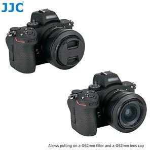 Image 3 - HB 98 lentes reversibles Hood sombra con 52mm UV filtro para Nikon NIKKOR Z 24 50mm f/4 6,3 lente Nikon Z5 Z6 Z7 Z6II Z7II Cámara