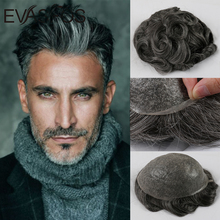 Male Wig Hair-Replacement-System Prosthesis Human-Hair-Pieces Men Toupee Men's Thin-Skin