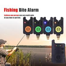 Fishing Bite Alarm  Electronic LED Light Fish Sound Bell Clip Wireless Carp Set Led Indicator