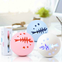 3pcs Pet Cat Ball Toy Dog Interactive Catnip Glow Squeaking Chew Toys Tooth Cleaning Balls puppy toys