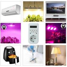 Электрический ЖК-дисплей цифровой таймер розетка переключатель Энергосбережение Великобритания/ЕС вилка цифровой таймер розетка