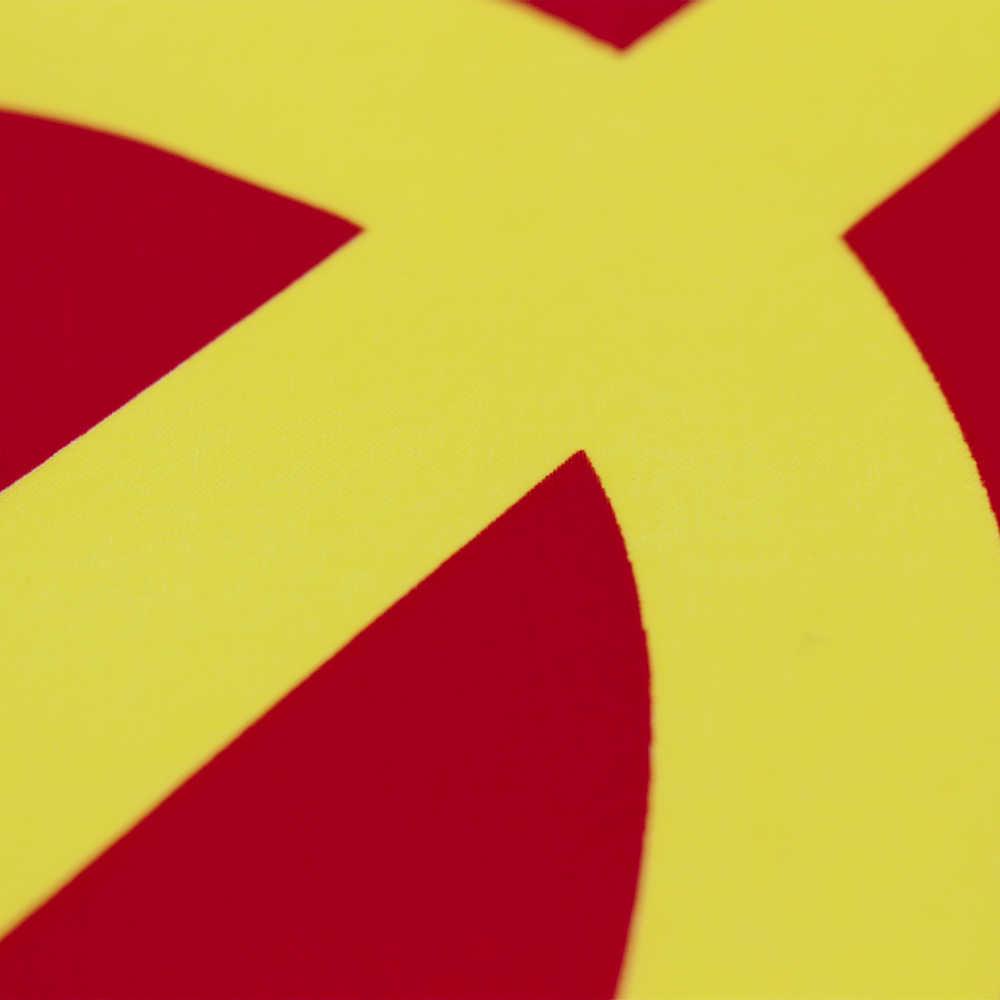 Yehoy 90X150 Cm Rusia Sovient Union Lambang Republik Sosialis Uni Soviet Pro Kitty Bendera