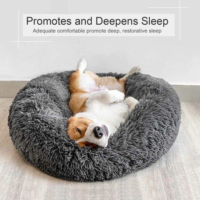 Pets Alpha Comfortable Super Soft Washable Pets Beds 2