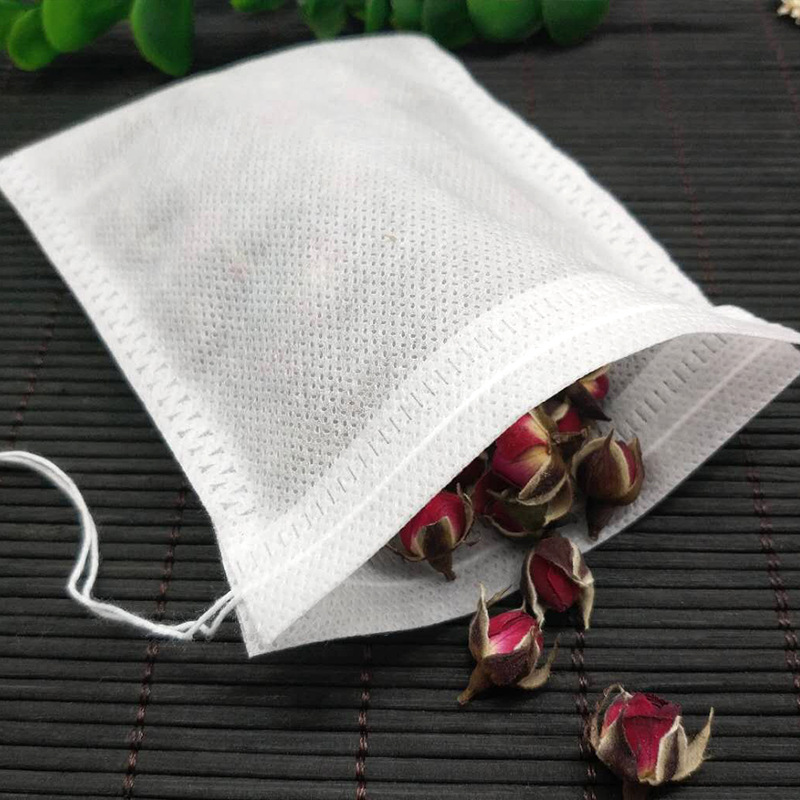 200PCS\500PCS\1000PCS Tea bags 7X9CM Empty Scented Tea Bags With String Heal Seal Filter Disposable Tea Bags for Herb Loose Tea