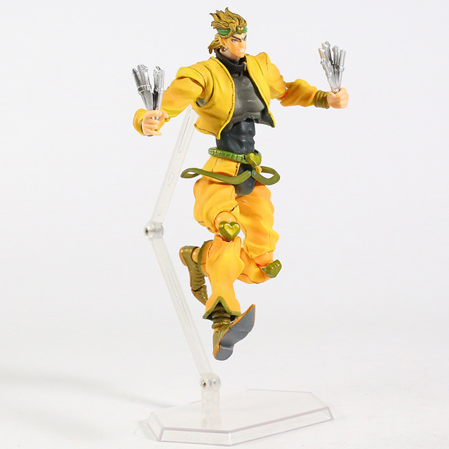 JoJos Bizarre Adventure Stardust Crusaders DIO PVC Action Figure Collectible Model Toy 2