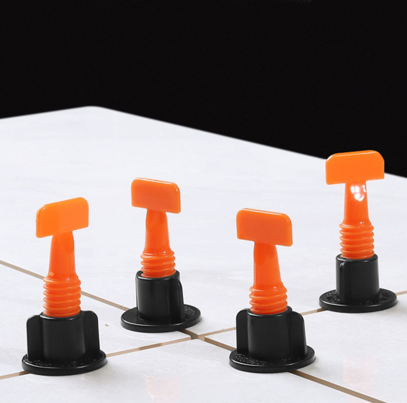 Reusable Tile Installation Tool Kit For Construction, 50 Pcs/set Tile Leveling System For Floor And Wall Construction