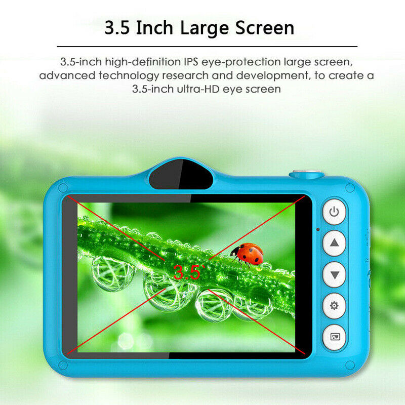 3.5 Inch 1080P Color Display Children's Mini Smart Digital Camera Outdoor Photography For Kids Birthday Gifts Toys Dropshipping