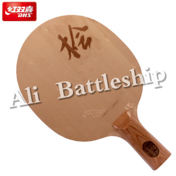 DHS New Di-HT (HINOKI Surface, 7 Ply Wood) Table Tennis Blade Racket Cypress Ping Pong Bat Paddle