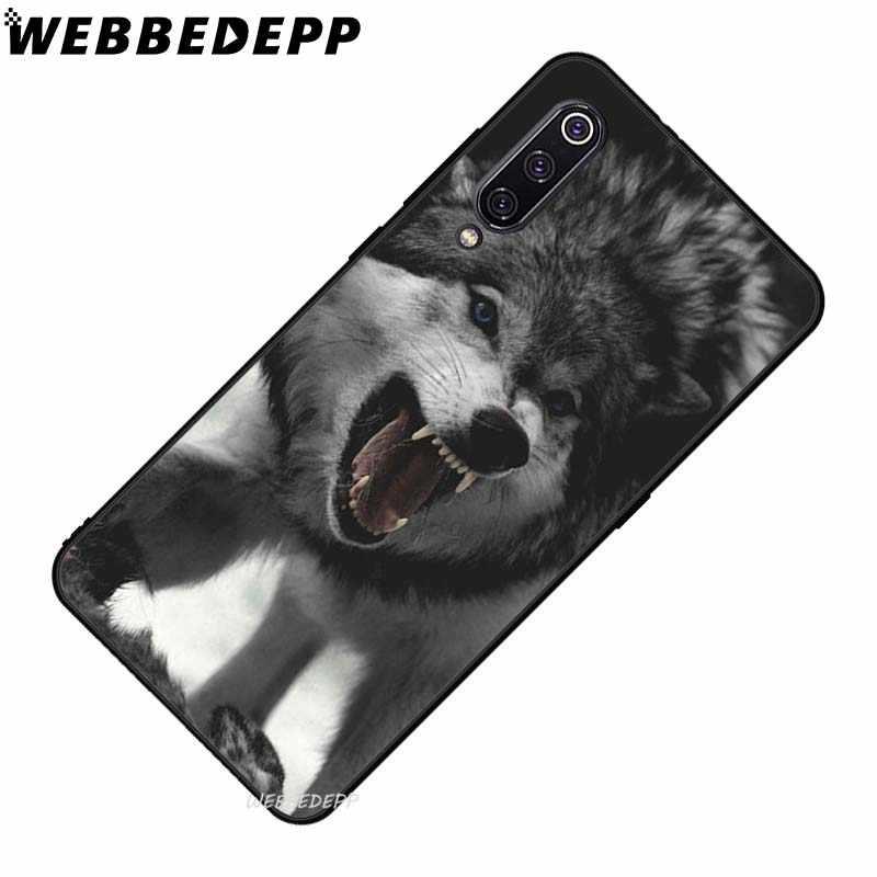 Webbedepp Hewan Serigala Berani Lembut TPU Case untuk Xiao Mi Mi 6 8 A2 Lite 6 9 Pro A1 Mi X 2 S MAX 3 F1 9T A3 Pro CC9E Cover