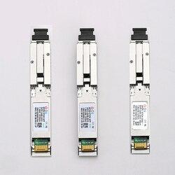 Vara de e/gxpon sfp onu com o módulo 1490/1330nm 1.25/2.5g xpon/epon/gpon (1.244 gbps/2.55g) 802.3ah do pon do conector do sc do mac