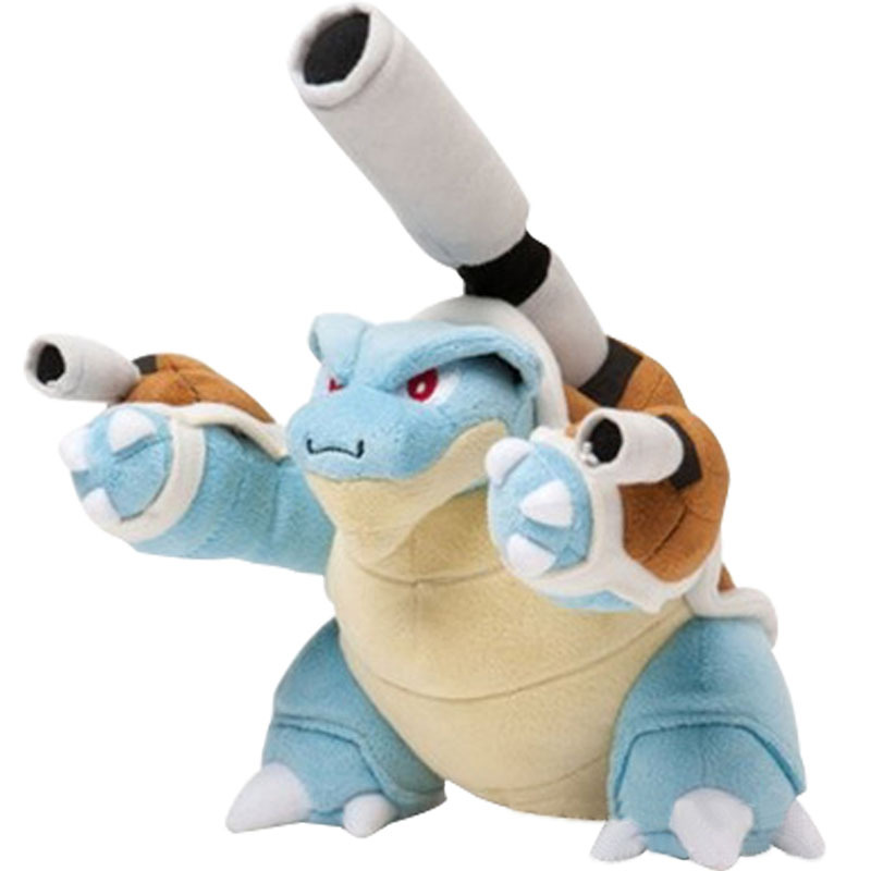 25CM Turtle Blastoise Stuffed Animal Plush Doll Toys