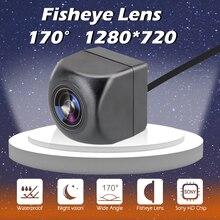Camera Car-Rear-View-Camera Fisheye Parking-Assistance Auto-Backup-Reverse Night-Vision