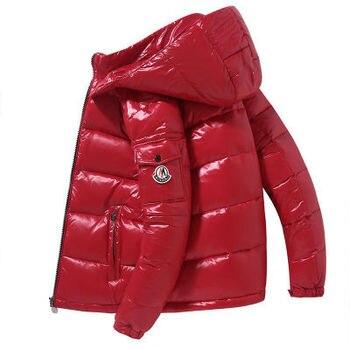 White Duck Down Jacket Men Streetwear 2020 New Thick Puffer Windbreaker Coats Male Hooded Winter Clothing